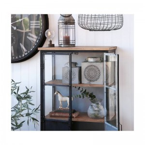 Witryna Industrialna Chic Antique