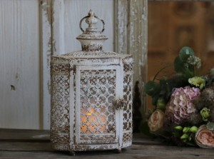 Chic Latarnia Antique white