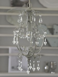 Chic Lampa antic white