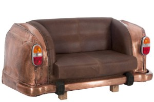 Copper  Car sofa