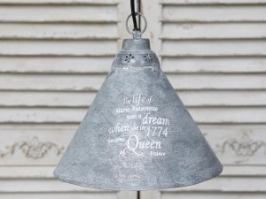 Chic Lampa metalowa French